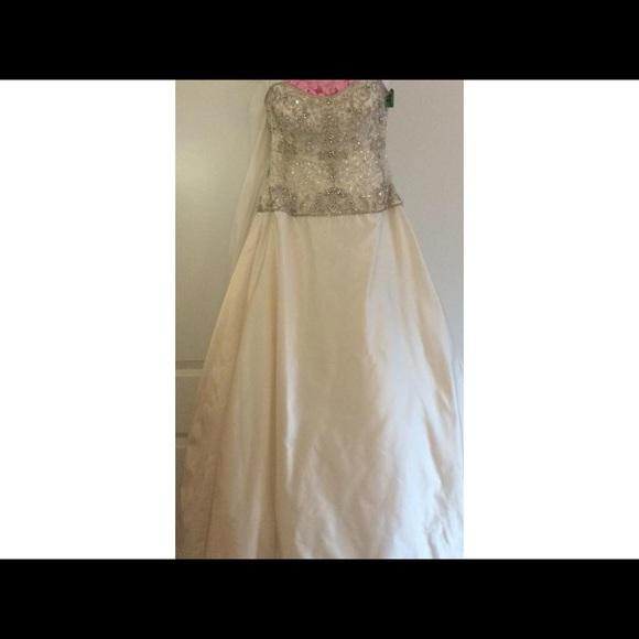 Kenneth Pool Dresses Luna Ivory Sample Wedding Dress Poshmark